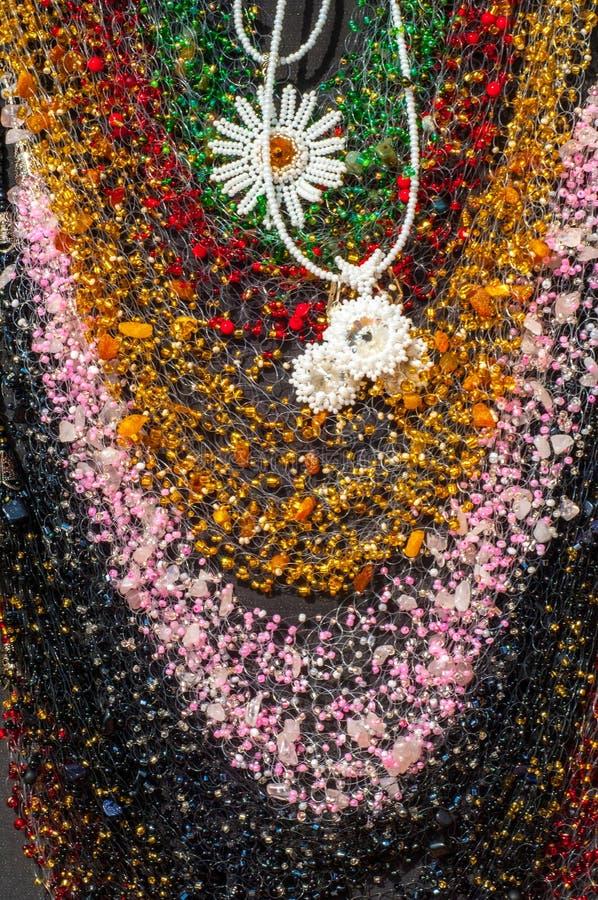 小珠,花冠,成串珠状 库存图片