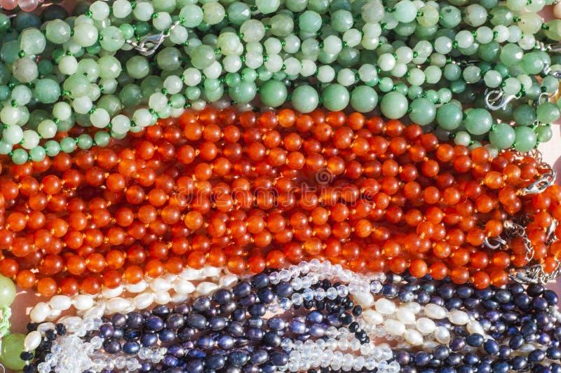 小珠,花冠,成串珠状 免版税库存照片