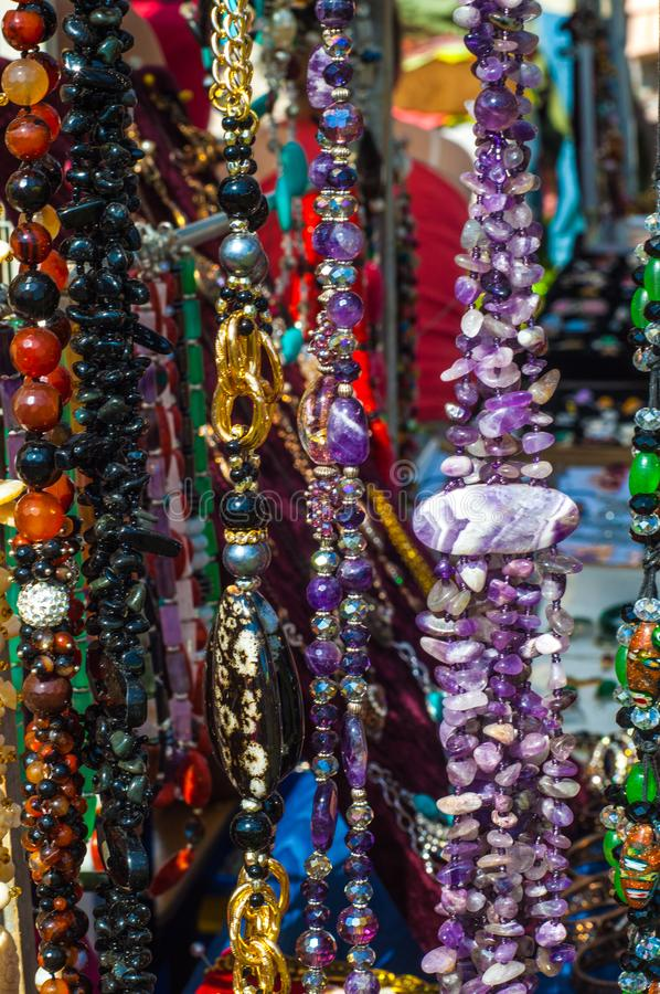 小珠,花冠,成串珠状 图库摄影