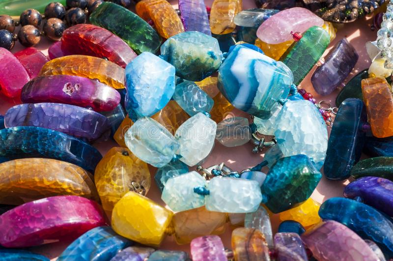 小珠,花冠,成串珠状 免版税库存图片