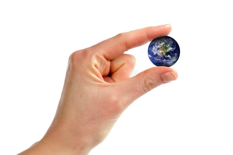 小的世界 免版税库存照片