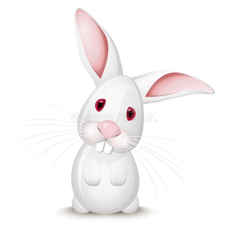 小的兔子 向量例证