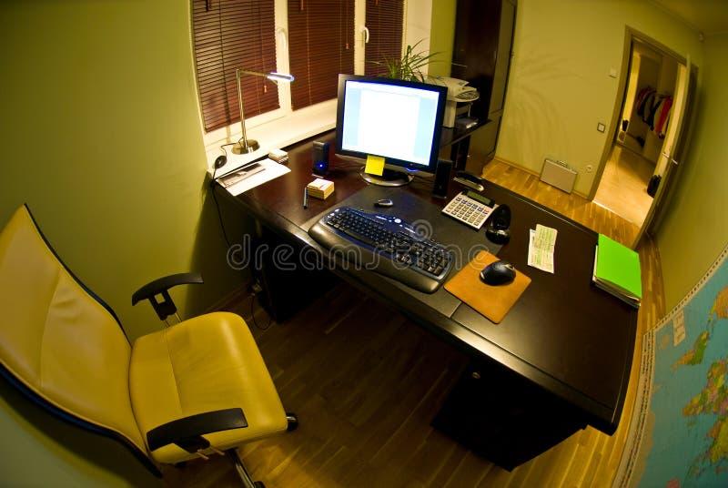 小的办公室 免版税库存照片