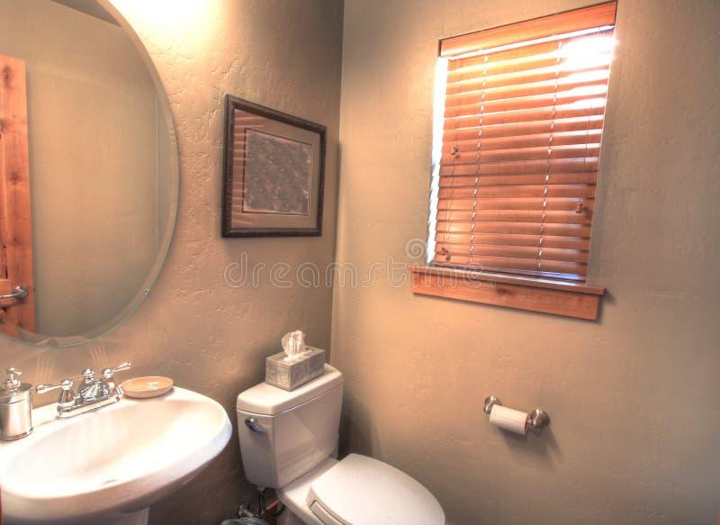 小的卫生间 免版税图库摄影