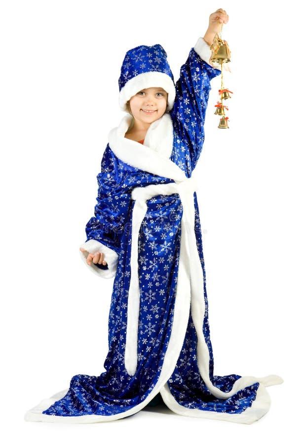 小的圣诞老人 免版税库存照片