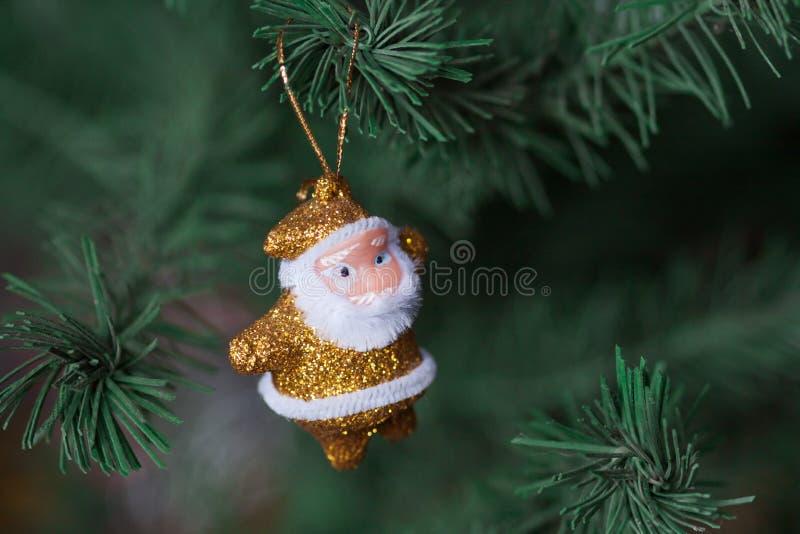 小的圣诞老人 图库摄影