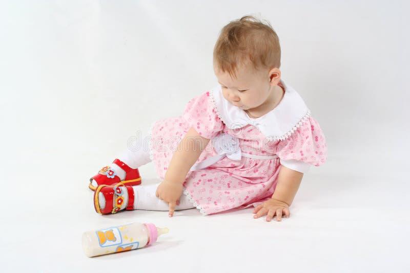 小的婴孩 库存图片