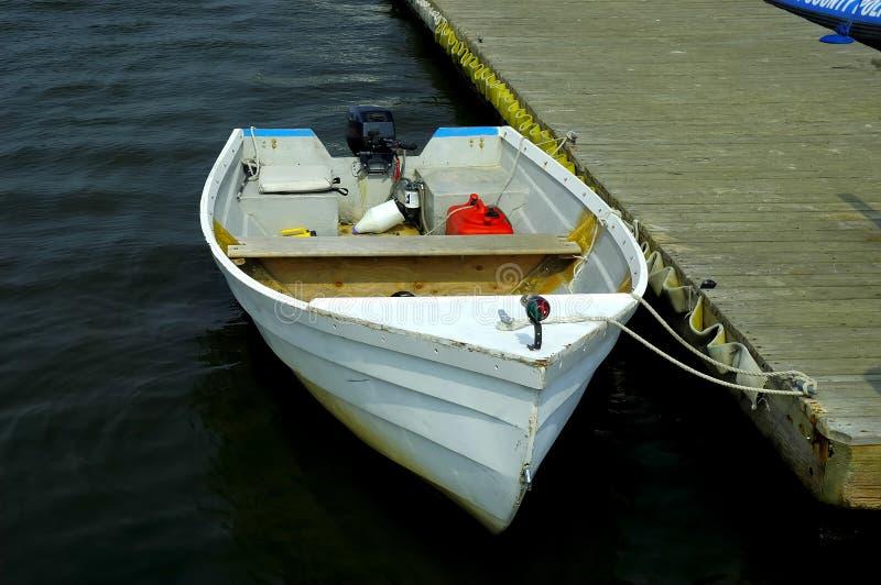 小的小船 库存图片