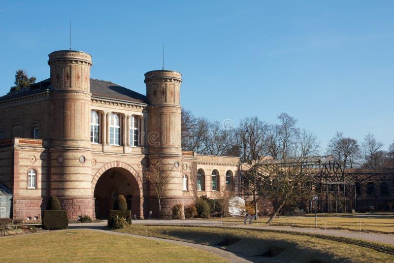 小的庭院城堡 免版税库存图片