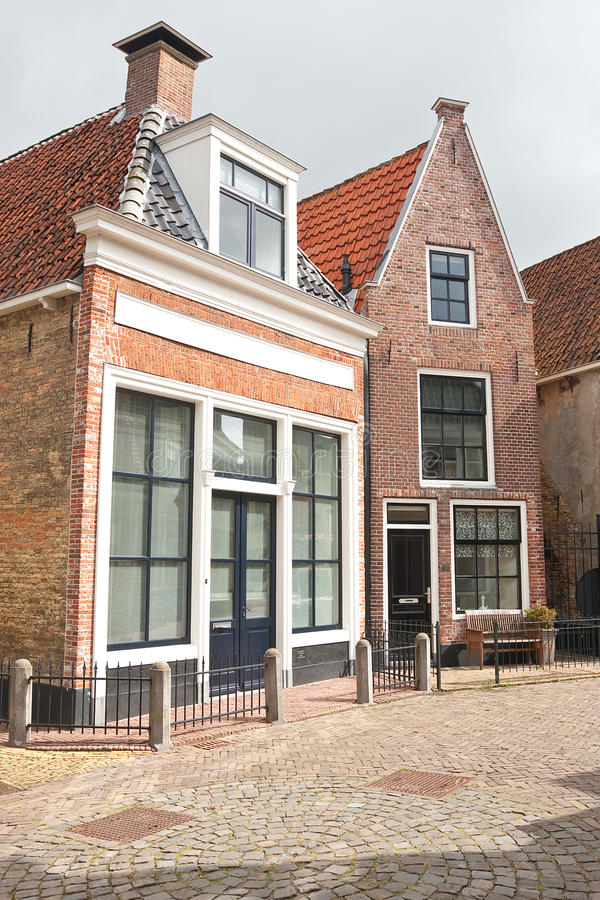 小的房子非常 免版税库存照片