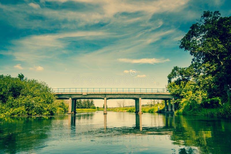 小的桥梁 库存照片