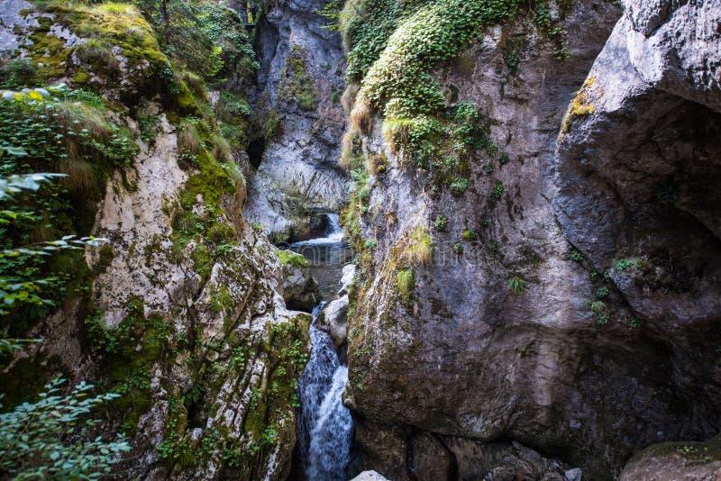 小的瀑布 免版税图库摄影