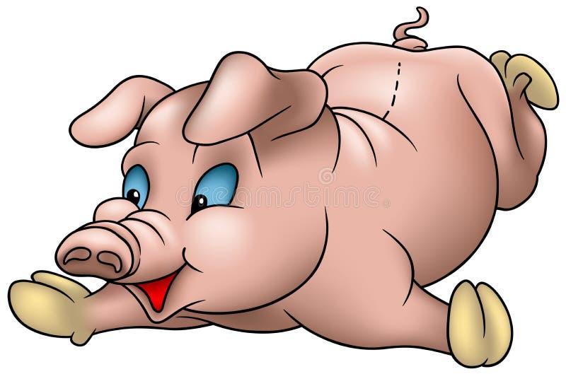 小的猪 库存例证