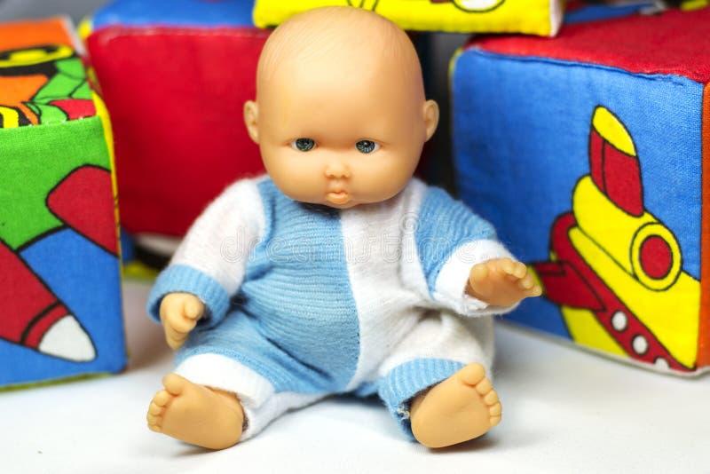 小的玩偶 库存照片