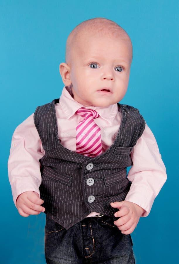 小的绅士。 图库摄影