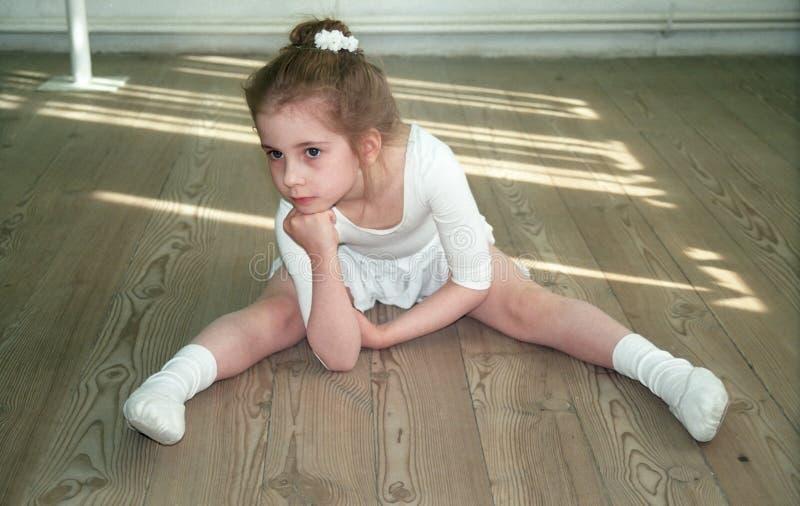小的芭蕾舞女演员 图库摄影