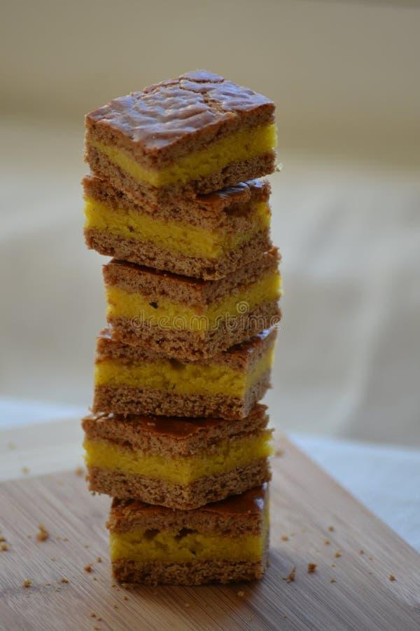 小的香料蛋糕 图库摄影