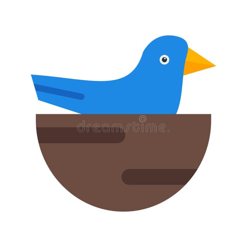 小的鸟 向量例证