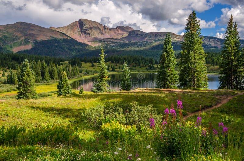 小的Molas湖 免版税库存照片
