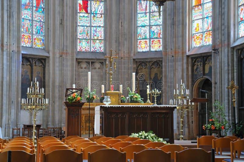 小的Sablon教会 免版税图库摄影