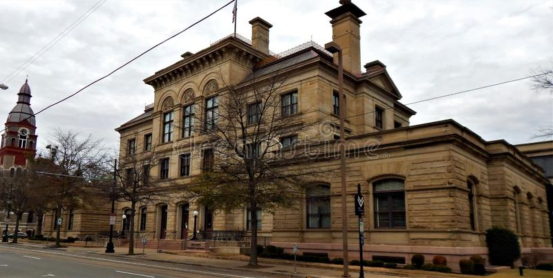 小石城美国破产法庭 免版税库存图片