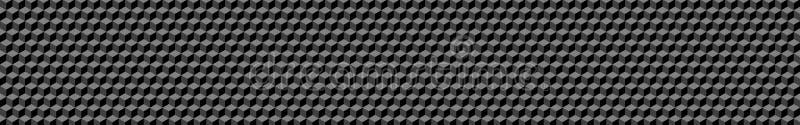 小等量立方体横幅  皇族释放例证