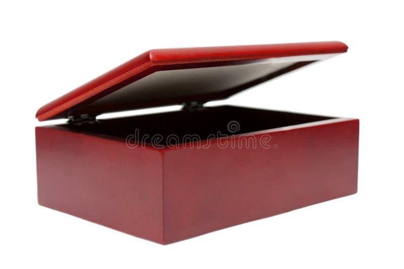 小箱查出的木 库存照片