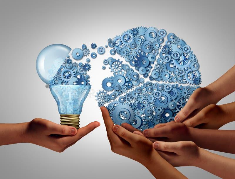 小组企业想法投资 向量例证