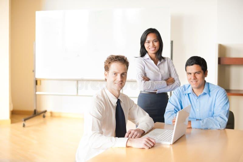 小组会议会议室表 免版税库存图片