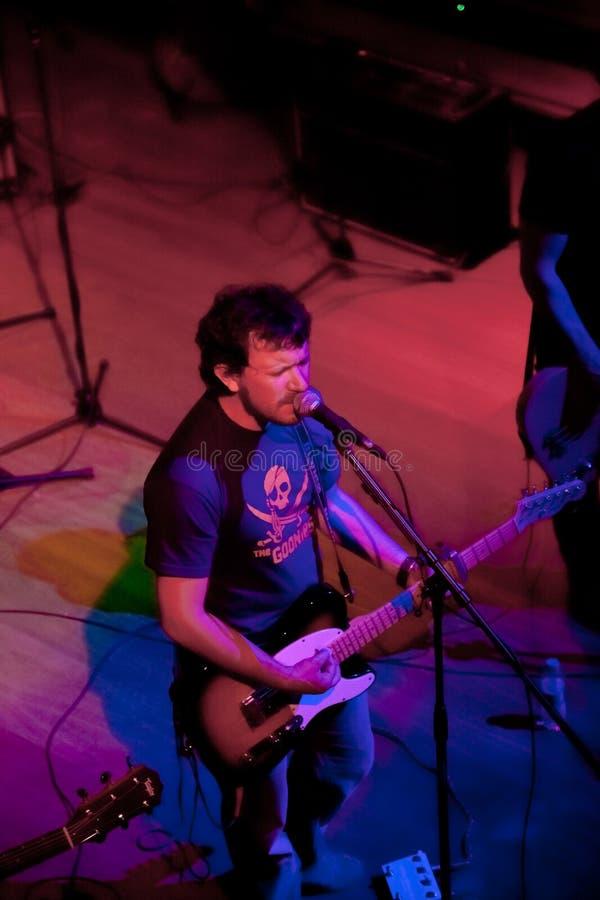 小组的音乐会制片者流行音乐, 2009年4月24日的香宾 库存图片