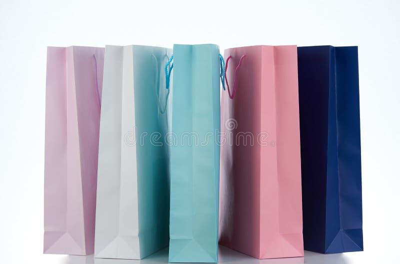 小组礼物袋子 免版税图库摄影