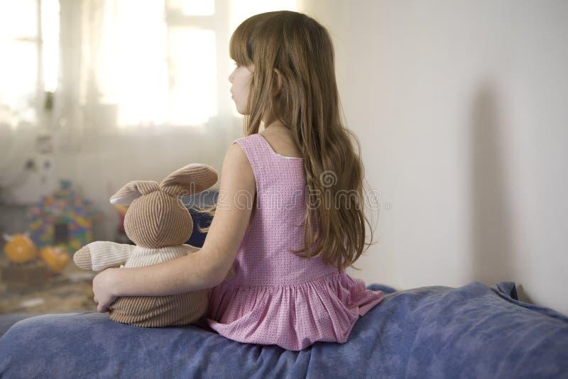 小美丽的女孩 免版税库存照片