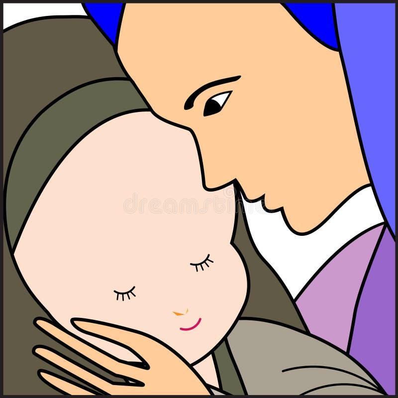 Download 小耶稣・玛丽 向量例证. 插画 包括有 图象, 设计, 基督教, 图画, 福音书, 圣诞节, 耶稣, 新闻 - 62528734