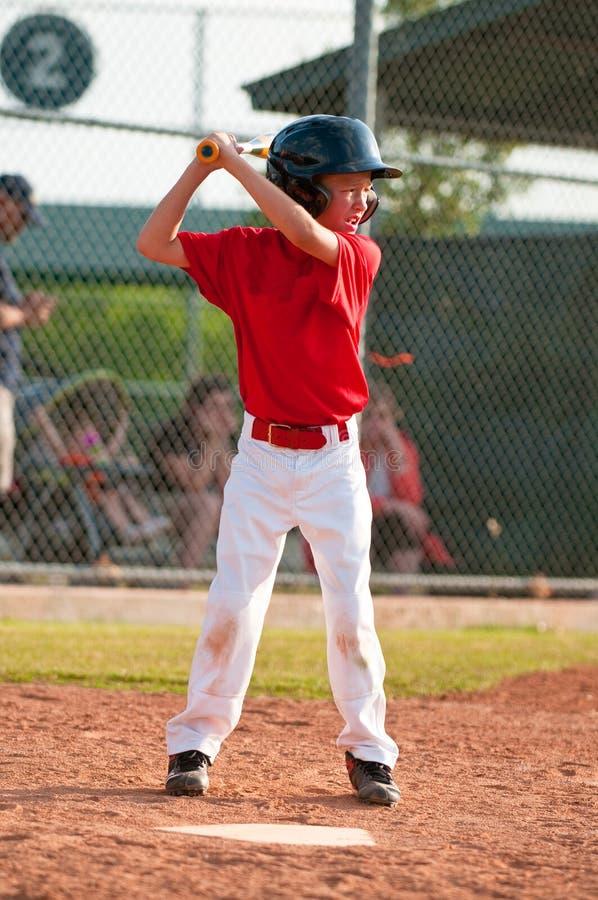 小职业棒球联盟棒球面团 库存照片