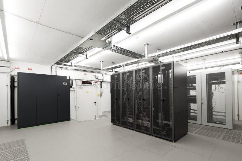 小航空计算机被适应的空间的服务器 库存图片