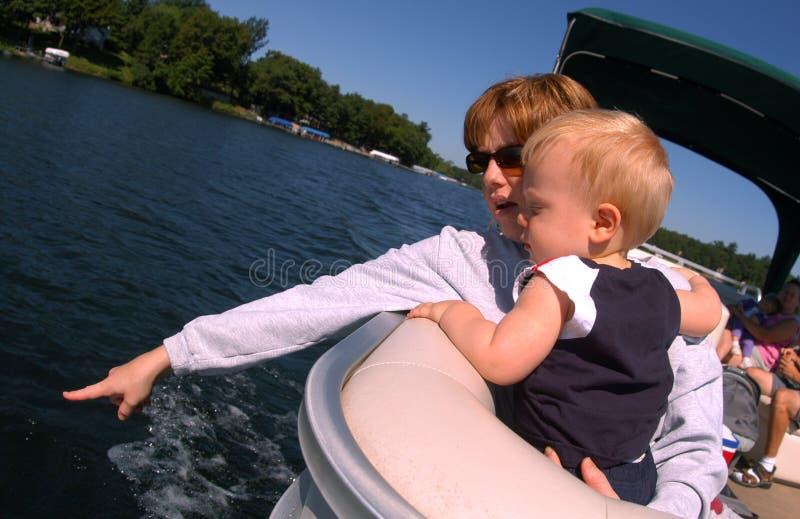 小船乘驾 免版税库存图片
