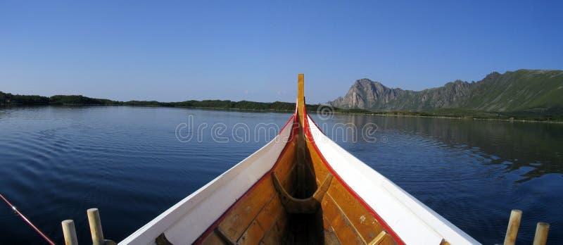 小船乘驾 免版税库存照片