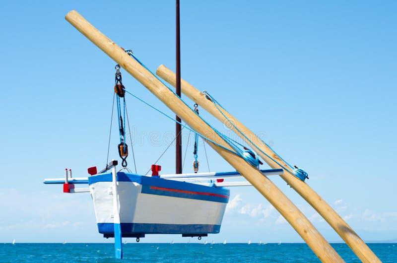 小船停止 免版税库存图片