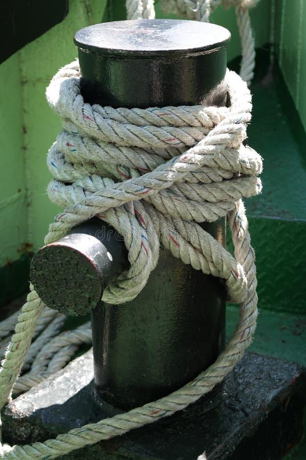 小船停泊 免版税库存照片