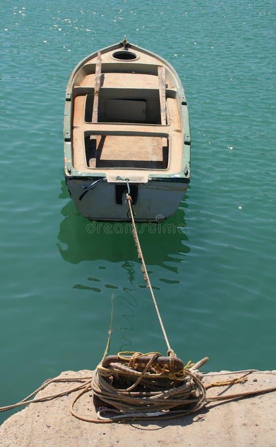 小船停泊 库存照片
