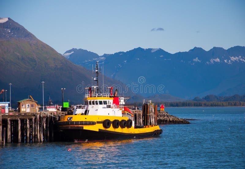 小船其它猛拉 免版税库存照片