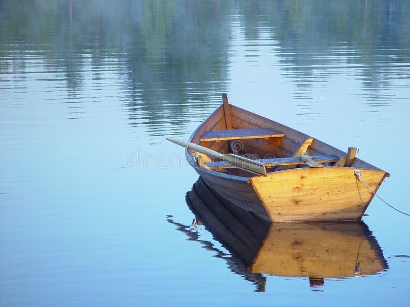 小船划船 免版税图库摄影