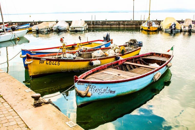 小船和梦想 免版税库存图片
