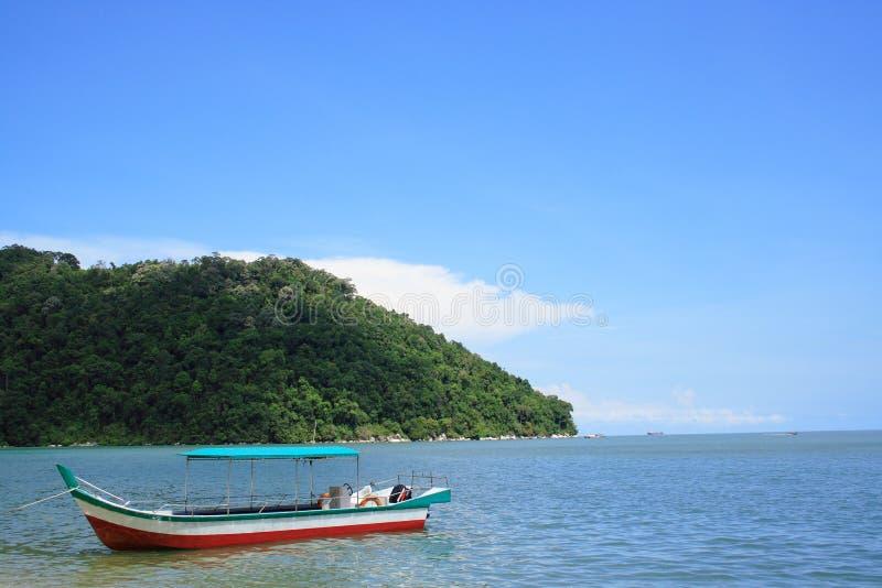 小船国家公园槟榔岛 库存图片