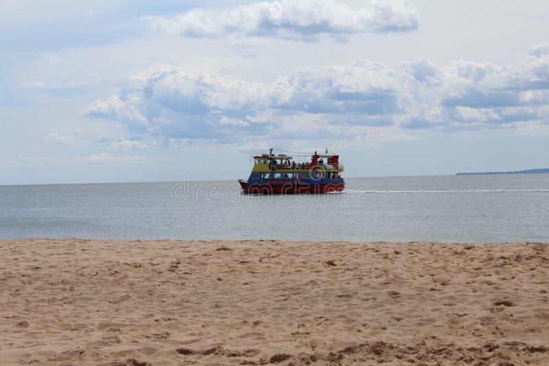 小船在水中 库存照片