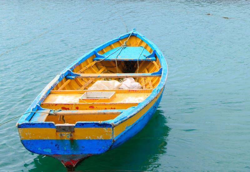 小船婆罗双树圣塔玛丽亚佛得角 免版税库存图片