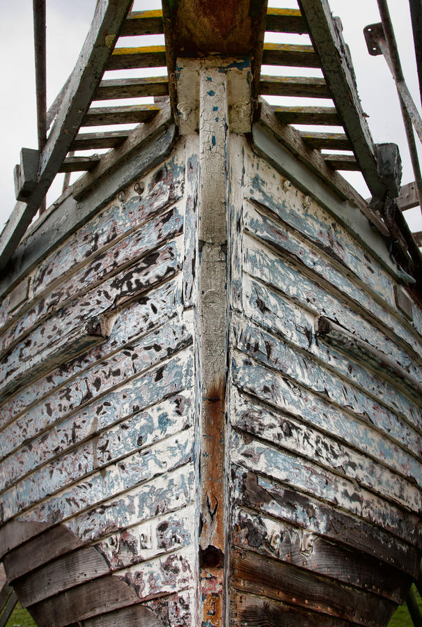 小船弓 库存图片