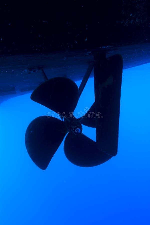 小船推进器 免版税库存照片