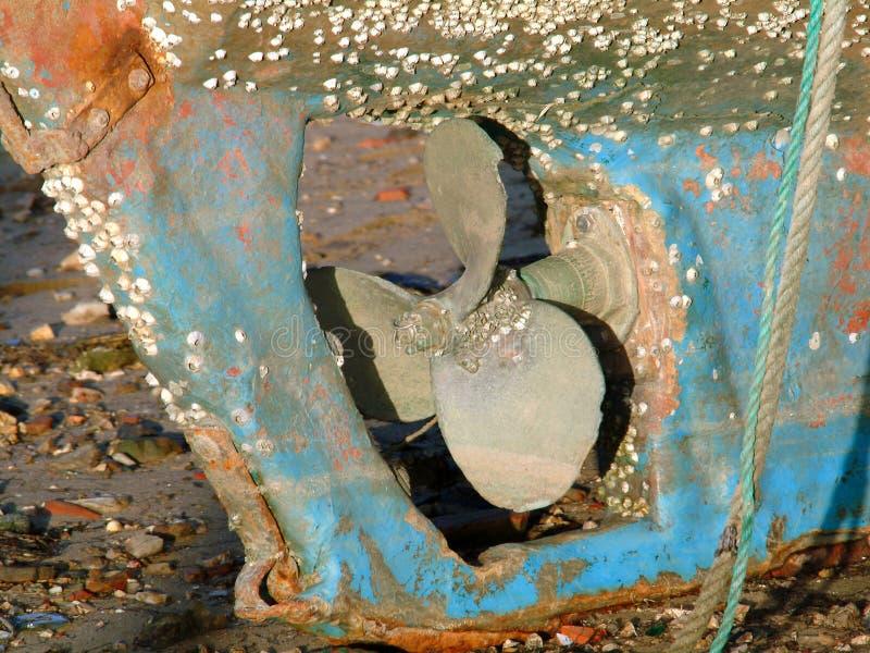 小船推进器 图库摄影