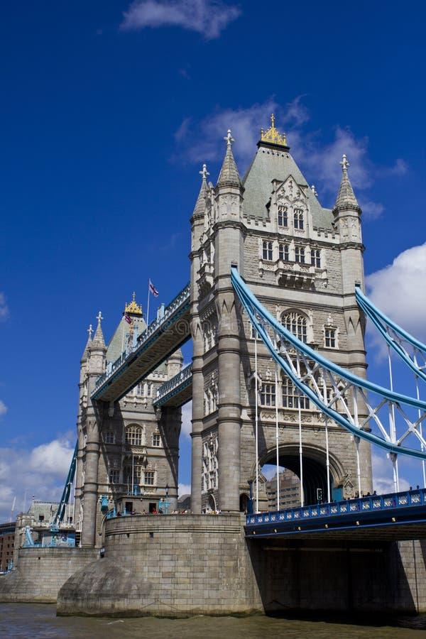 小船桥老伦敦 图库摄影